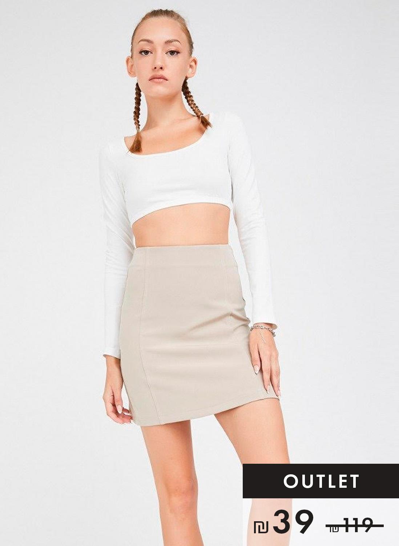 חצאית מיני בלקוני